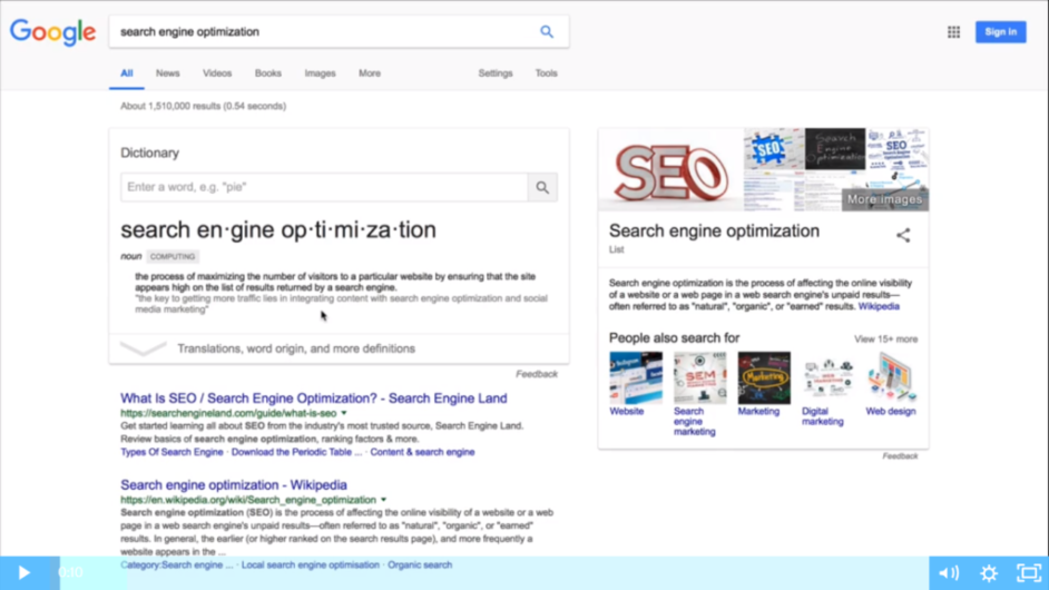 WA - Getting Your Sites Ready for Search Engines