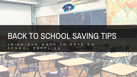 Back to School Saving Tips