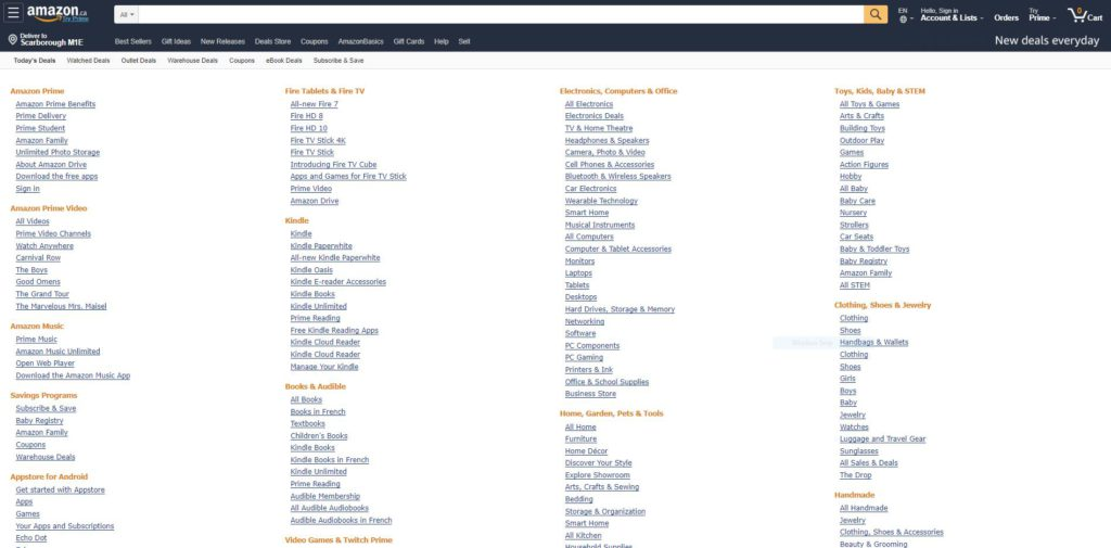 """How to Choose a Niche Using Amazon's """"Shop By Category"""""""