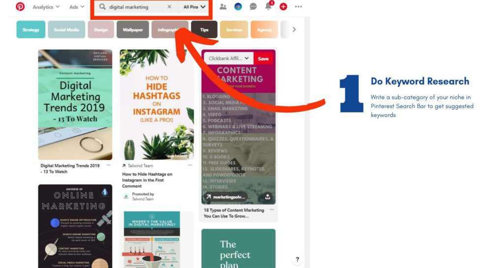 How to Optimize Pinterest for SEO 1