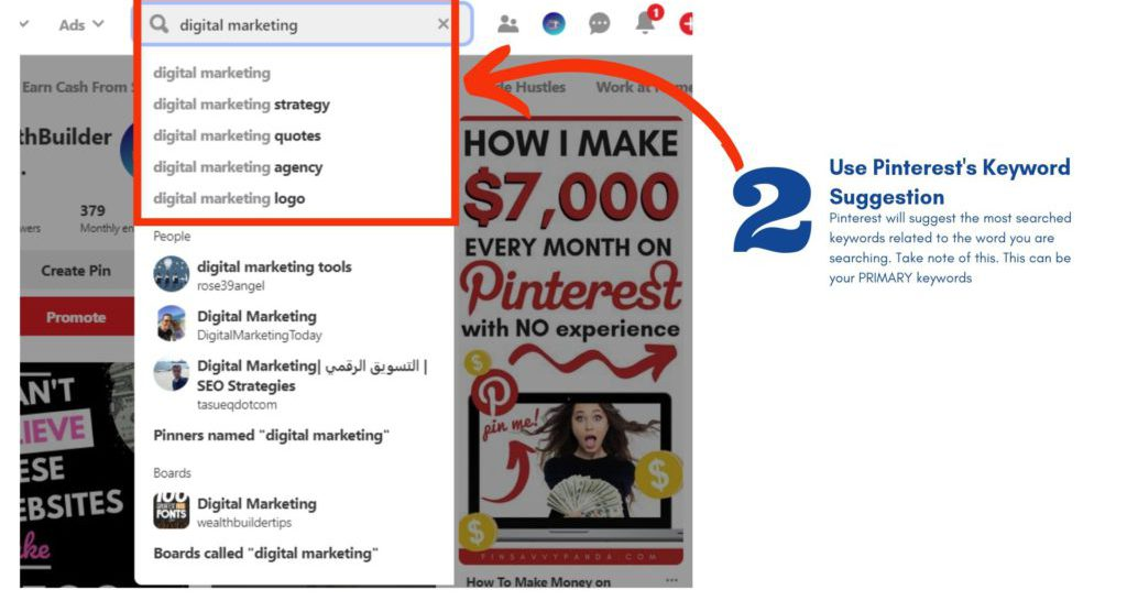 How to Optimize Pinterest for SEO 2