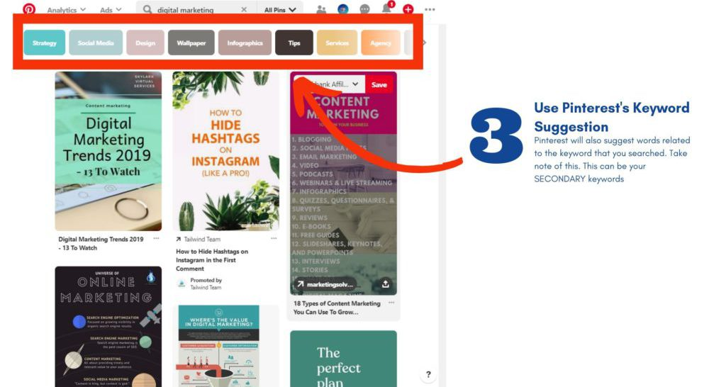 How to Optimize Pinterest for SEO 3
