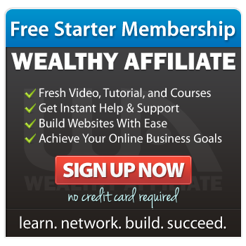 wealthy affiliate free starter account